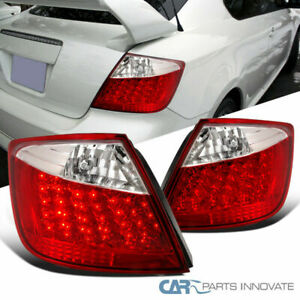 Scion 04-10 tC Rear Tail Lights Black Reverse Brake Parking Lamps Left+Right