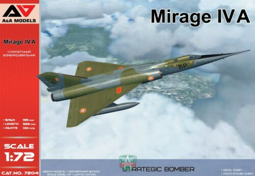 A/&A Models 7204 1:72nd scale Mirage IV A Strategic Bomber