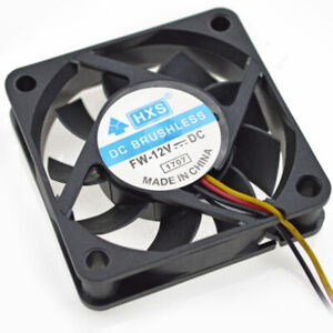 Peachy 4 Pins 60Mm Desktop Computer Case Cooler Cpu Cooling Fan Pc Beutiful Home Inspiration Aditmahrainfo