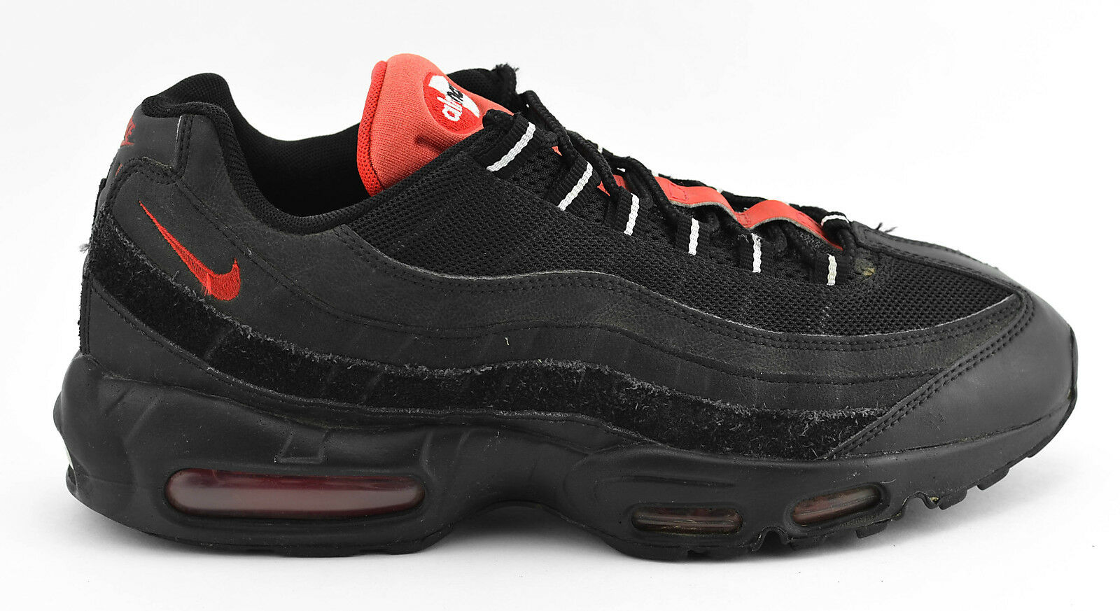 the best attitude 2aa72 5df19 MENS NIKE AIR MAX 95 RUNNING SHOES SIZE SIZE SIZE 10.5 BLACK orange RED  749766 016