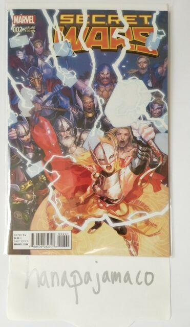 Secret Wars #2 Yasmine Putri Variant Marvel Comics NM Lady Thor Love Thunder