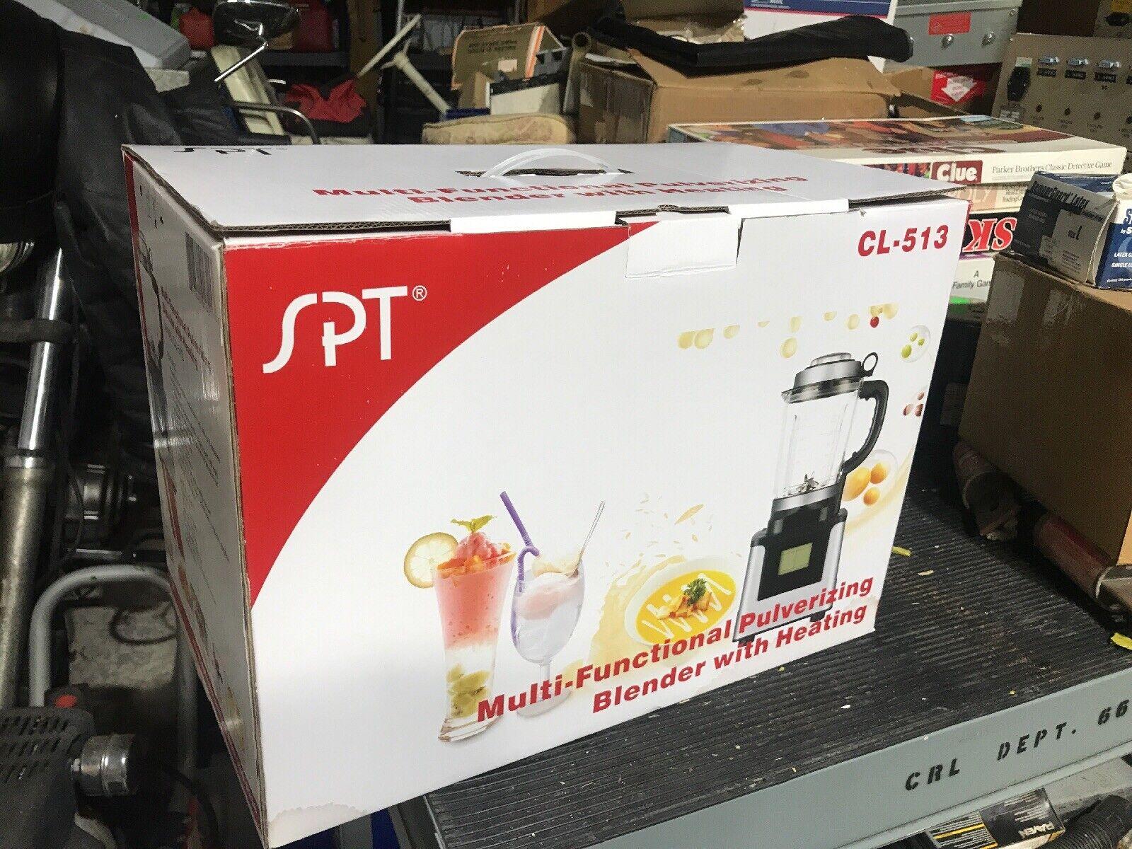 SPT comptoir Blender 3.5HP moteur 9-Réglage de Vitesse écran tactile Pulse Bouton