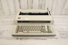 Vintage Ibm By Lexmark Personal Wheelwriter 2 6781 Electric Typewriter