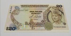 Malaysia 5th Series Taha RM20 TC