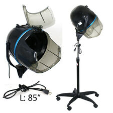 Floor Bonnet Stand Up Salon Hair Dryer with Casters 1300W Bonnet Hood Dryer New