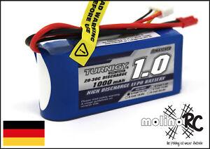 1x-Turnigy-1000mAh-3S-20C-NEU-POWER-Lipo-Akku-11-1V