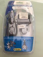 Carica Batteria Auto X siemens a55-c55-60-62-m55 piu supporto auto Feder