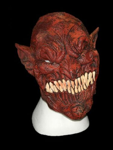 """Lattice maschera pieno /""""Devil/"""" Horror Halloween Maschera"""