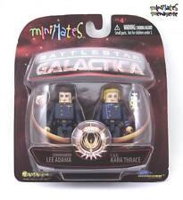 Battlestar Galactica Minimates Series 3 Commander Lee Adama & C.A.G. Kara Thrace