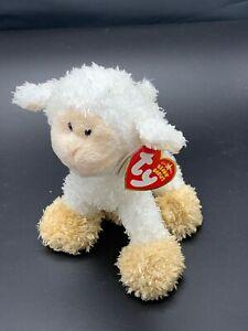 2006 Beanie Baby Baaabsy has Extra Blank Ear Tag Behind Regular