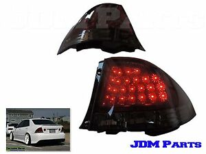 NEW LED SMOKE Tail Lights Rear Lamp For IS200 IS300 1998-2005 LEXUS ALTEZZA