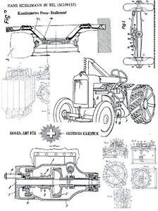 Hürlimann Traktoren u Fahrzeuge Technik auf 399 Seiten