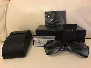 Black Prada 1bo 59n Aviator Spr Sunglasses look 3m1 Nuovissimo Frame HEdpBRwwU