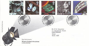16 APRIL 1996 100 YEARS OF THE CINEMA RM FIRST DAY COVER BUREAU SHS a - Weston-super-Mare, United Kingdom - If the item you received has in any way been wrongly described or we have made a mistake regardless of the nature we will pay your return postage costs. If however the error is yours you pay for the return postage. Most - Weston-super-Mare, United Kingdom