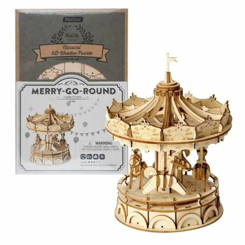 DIY Wooden Model Kits Mechanical Gear Drive 3D Puzzle Craft Toy For Adult Teens