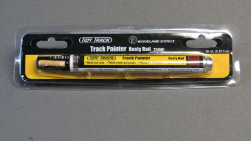 Woodland SCENICS traccia pittore RUSTY Rail N HO O G Std Gauge Marker WDS4581 NUOVO