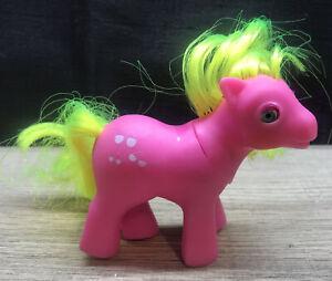 1986 Vintage My Little Pony So Soft Ponies Shady Rare HTF