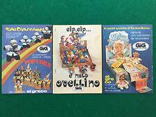 PB51 Pubblicità Advertising Clipping 19x13 cm (4 pezzi) BAMBOLE GIG EL GRECO