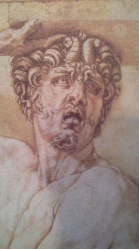 Cellini/'s Satyr Limited Edition Print Old Master Drawing
