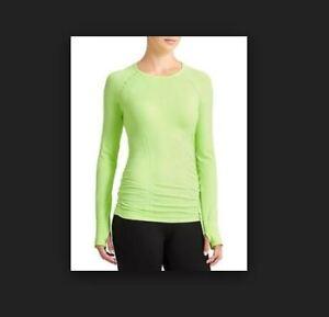 ab2a4a7765 NWT Athleta Small Long Sleeve FASTEST TRACK TOP Seamless Running Gym ...