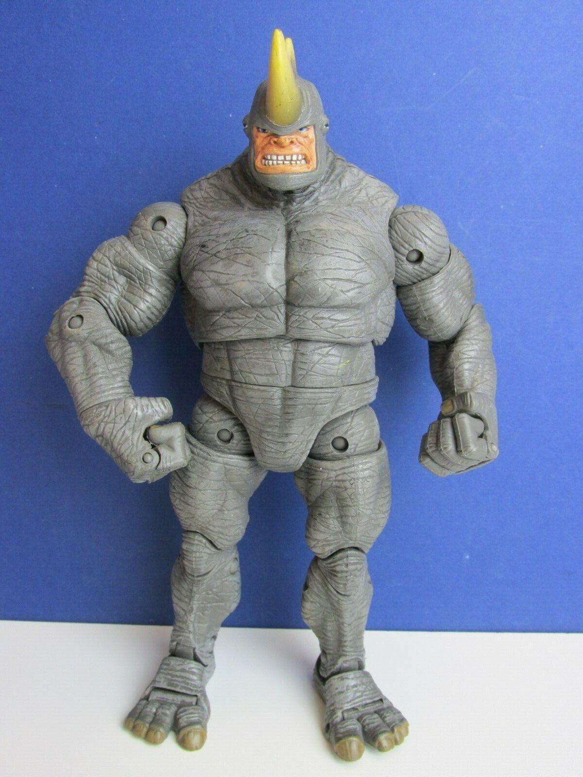 RARE MARVEL rougeoutables ennemis Rhino Spider-Man Action Figure toybiz 2006 toybiz 40 M