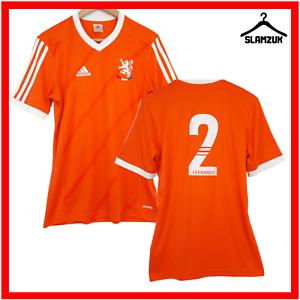 Glasgow Rangers Football Shirt Adidas Lionbrand S Small Ricksen Soccer Jersey