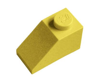 8 Stück 2x2 Schräg Steine in Weiß Lego City Dachsteine neu