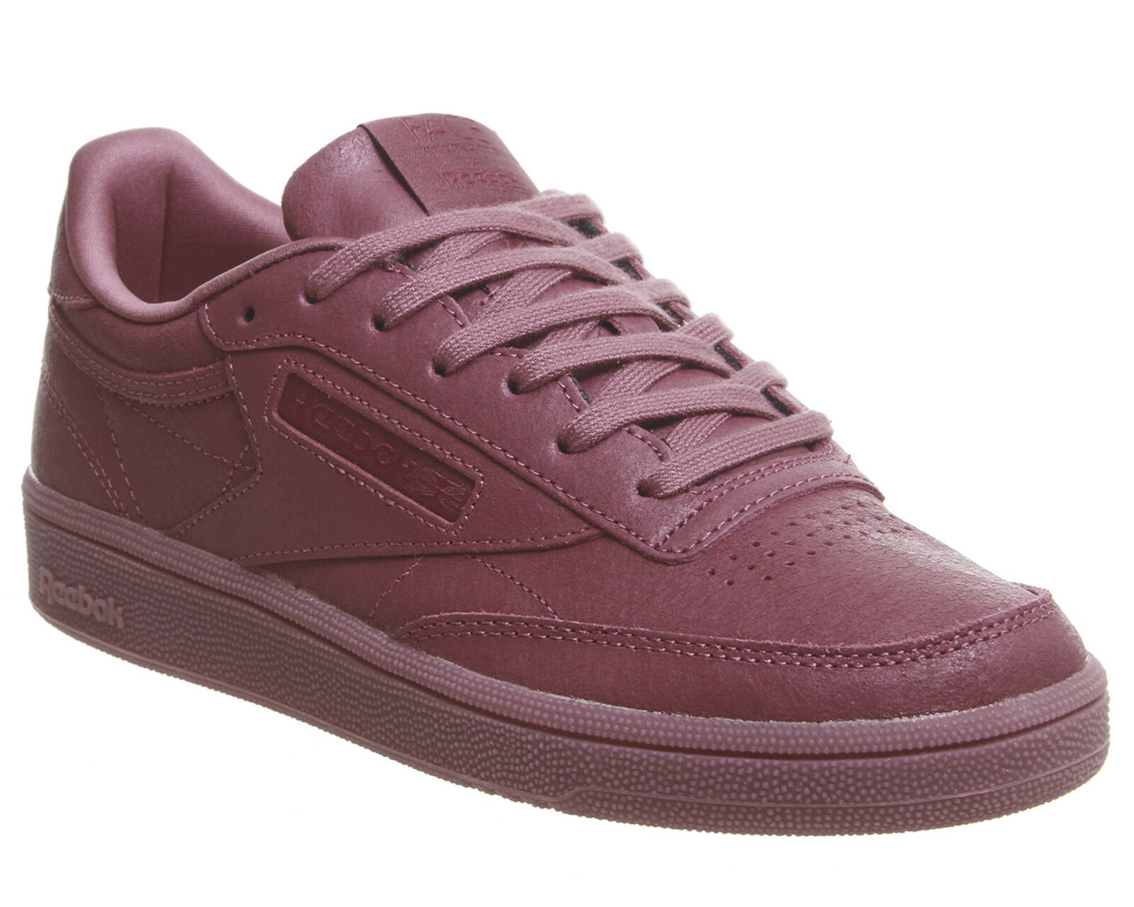 Damenschuhe Reebok Club C 85 Trainers FACE TWISTED BERRY Weiß Trainers Schuhes