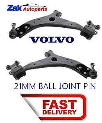 Volvo S40 2004-2013 Front Lower Suspension Wishbones Pair Left /& Right
