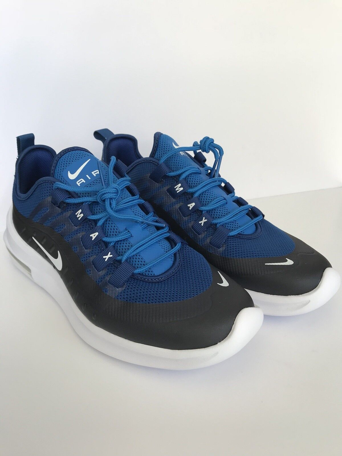 Nike Air Max Axis Mens AA2146-400 Gym bluee Nebula Mesh Running shoes Size 7