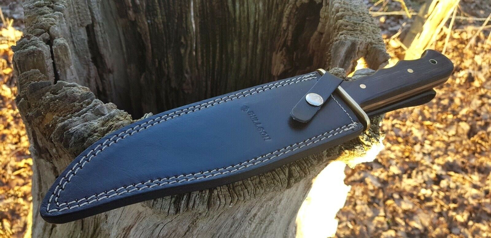 BULLSON - LEDER  BUSCHMESSER  KNIFE JAGDMESSER MACHETE MACHETTE  MESSER  | Export
