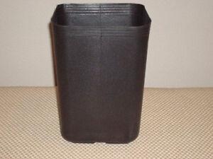 Image Is Loading Nursery Pots Plant Pot 50 Used Square 1