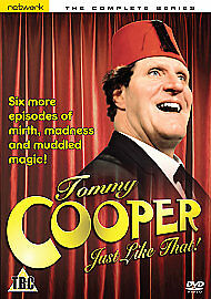 1 of 1 - Tommy Cooper - Just Like That - Series 1 - Complete (DVD, 2008)
