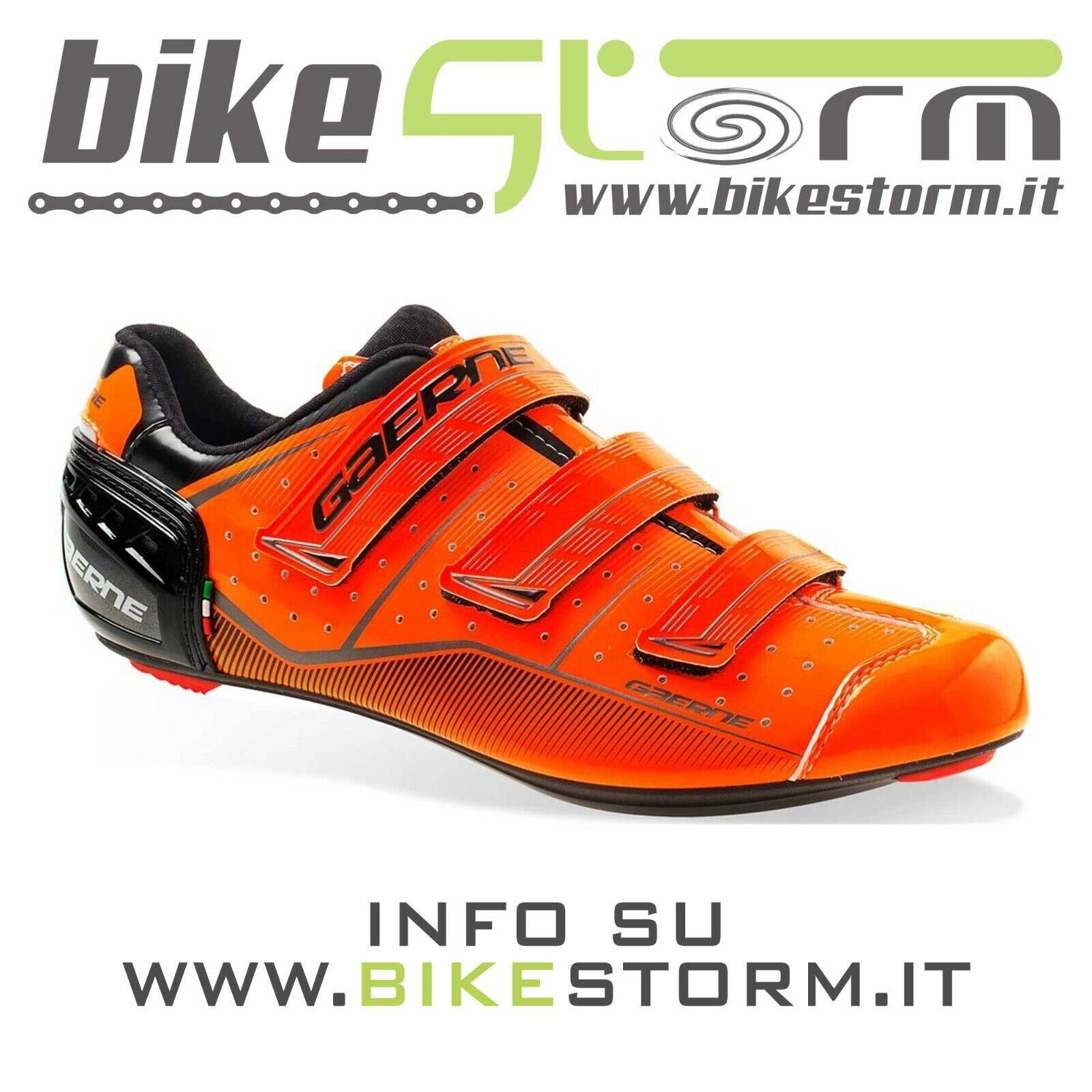 Gaerne G.Record arancia TG 45 sautope bici da corsa