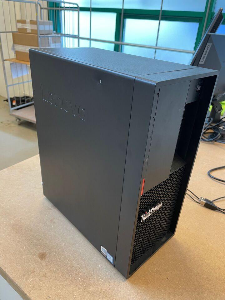 Lenovo, Thinkstation P330 Gamer, Core i7 - op til 4,7 Ghz