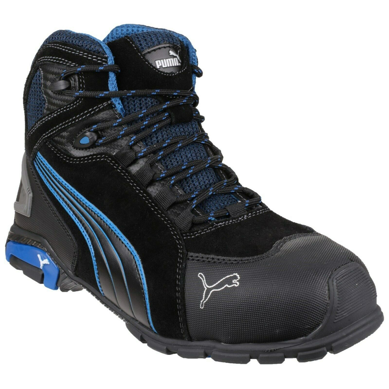 Mens PUMA Rio Mid Steel Toe/Midsole S3 Safety Work Boots Sizes 7 to 12