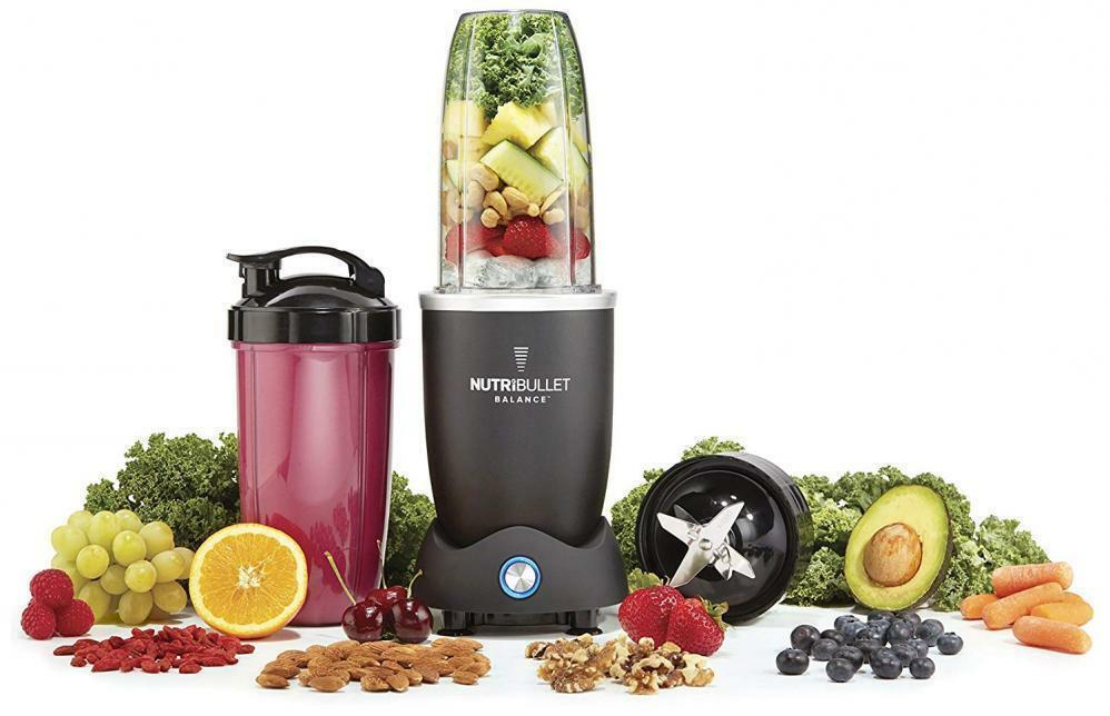 NutriBullet N12S-0901 Balance compatibles bleutooth Smart Blender 1200 12 PIECES SET NW