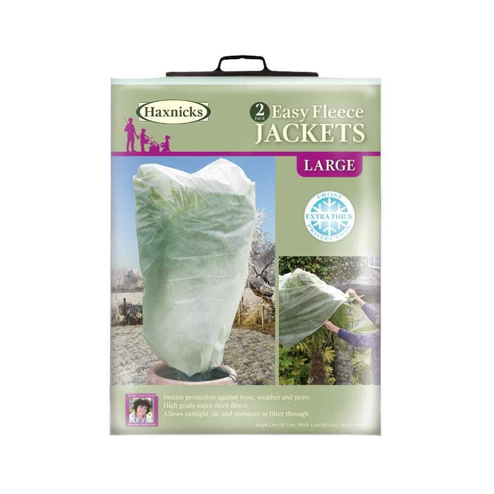 Quick And Easy Fleece Jackets 2 Pack Frost Protection For Plants