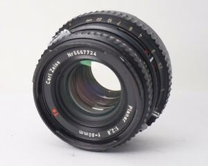 Hasselblad-Carl-Zeiss-C-Planar-80mm-F-2-8-T-Lens-Black-for-500-501-503-Japan