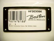 Boston Humbucker frame 3 mm flat, black pickup ring flat black
