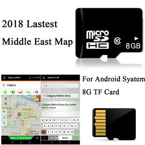 8GB Micro SD Card Auto Car GPS Nav Software For Android