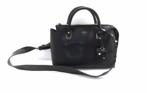 GUESS Liya Satchel Carryall Convertible Tote Handbag Bag Black for ... 87cbed73283f7