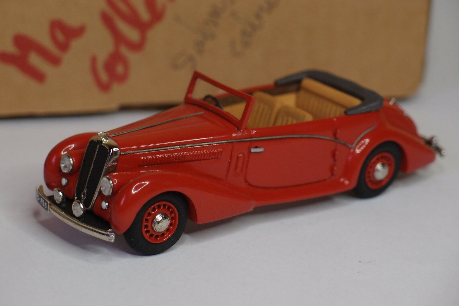 Mounted kit my collection salmson s4 cabriolet factory 1950 1 43