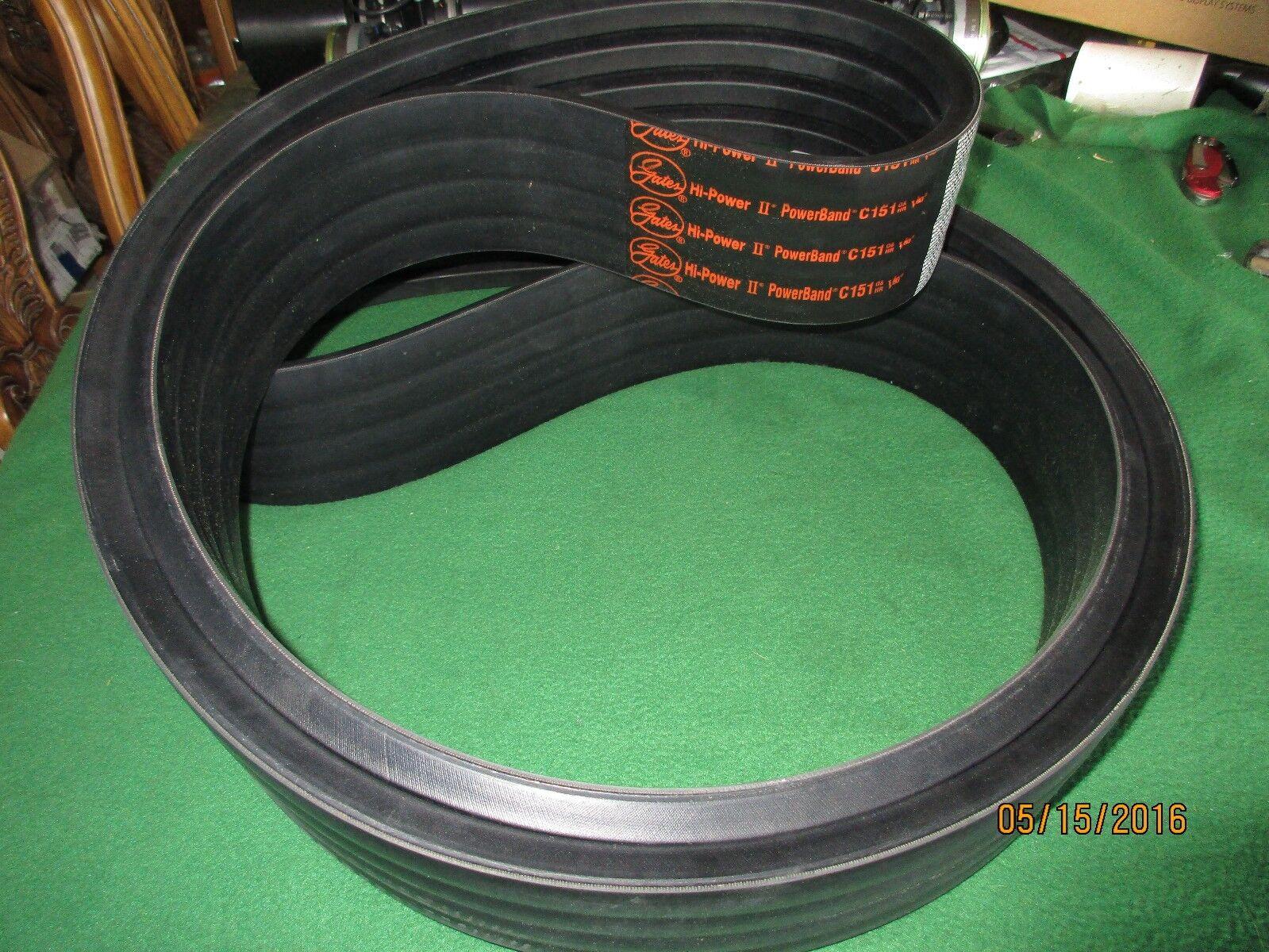 5//8 x 71 OC D/&D PowerDrive 5VX710 V Belt Rubber