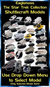 Eaglemoss-Star-Trek-Starships-Collection-Shuttlecraft-Models-Brand-New