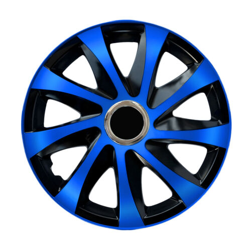 """Universal Wheel Covers 14/"""" 15/"""" 16/"""" set of 4  Many Variations Sport Wheel Covers"""