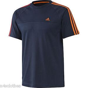 T shirt bleu adidas XL