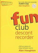 Quality In Imported From Abroad Fun Club Descant Recorder Grade 0-1 Student Bk&cd Superior