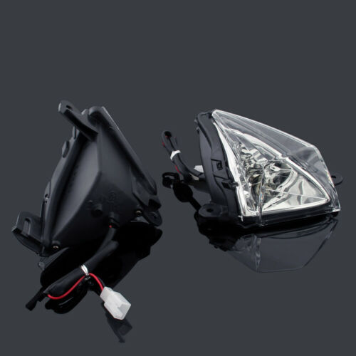 New Front Turn Signals Blinker Indicator for Kawasaki ZX636//ZX6R 2005-10 2009 A1