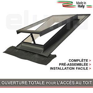 Lucarne Fenêtre Daccès Au Toit Ligne Basic Vasistas 48x72